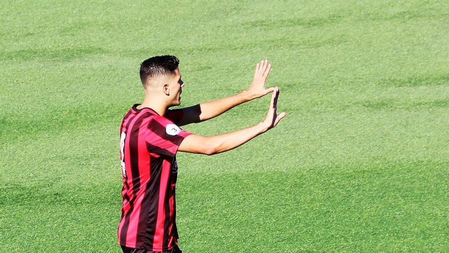 Ramón, en el último partido frente al Cádiz B