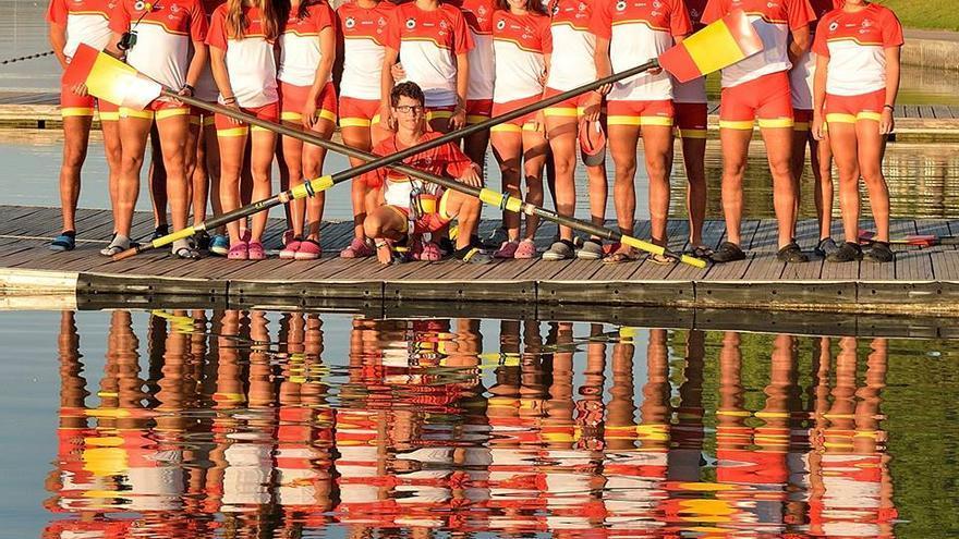 Siete andaluces con el equipo español en la cita continental