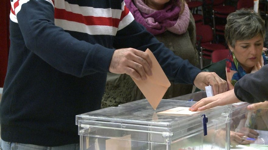 Cierran los colegios electorales de Navarra, en una jornada sin incidencias significativas
