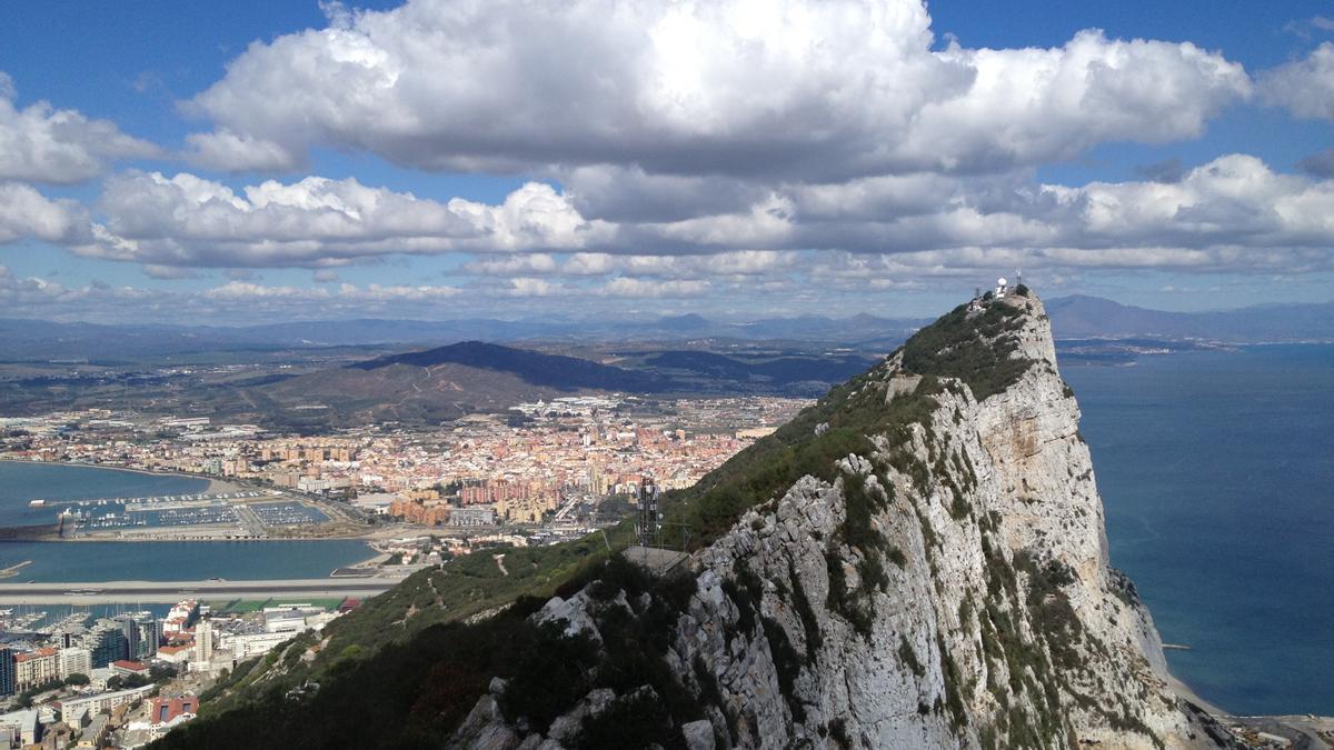 Archivo - Vista del peñón de Gibraltar