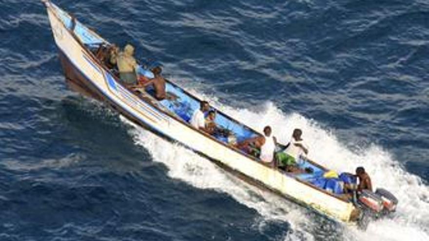 Piratas en Somalia. (EUROPA PRESS)