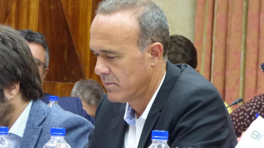 Raúl Camacho, consejero del grupo Popular en el Cabildo de La Palma.