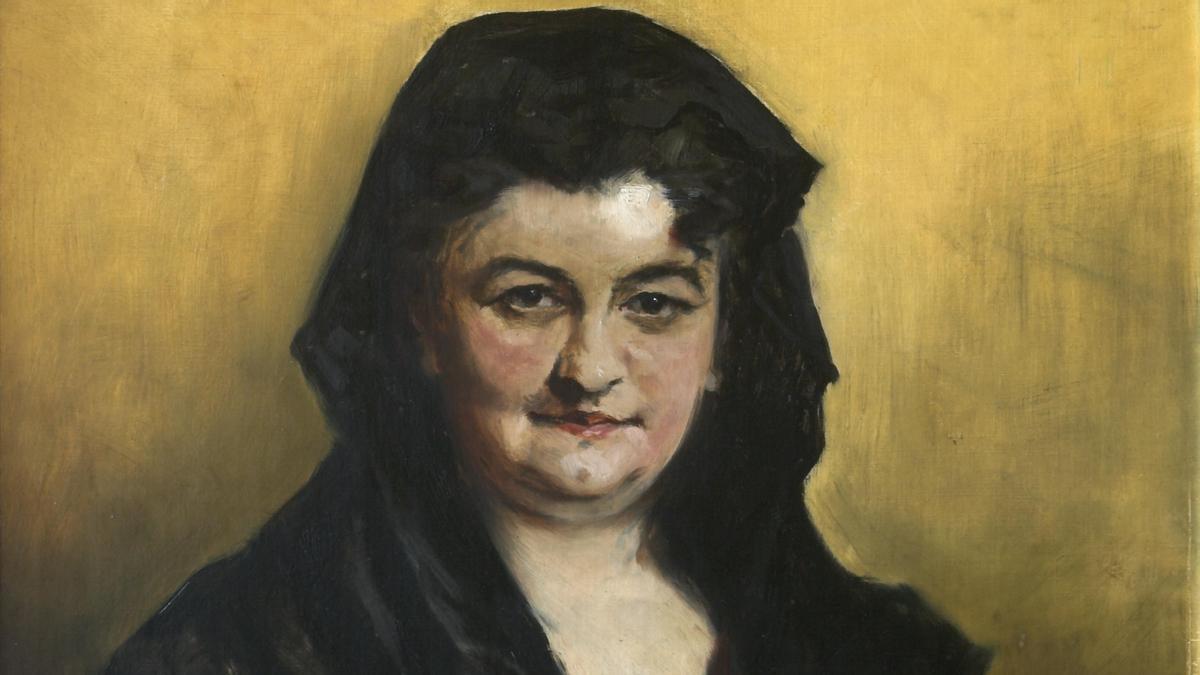 Retrato de Emilia Pardo Bazán (1887)