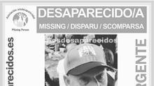 Cartel con la imagen de Juan Cabrera, a quien se buscaba en La Gomera