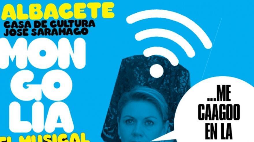 Cartel de Mongolia 'el musical' en Albacete