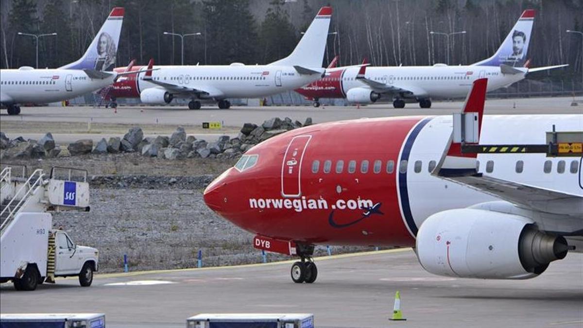 En 2019, Norwegian contaba con una flota de 156 aviones, de los cuales 37 eran de larga distancia y 119 de corta distancia o de pasillo único
