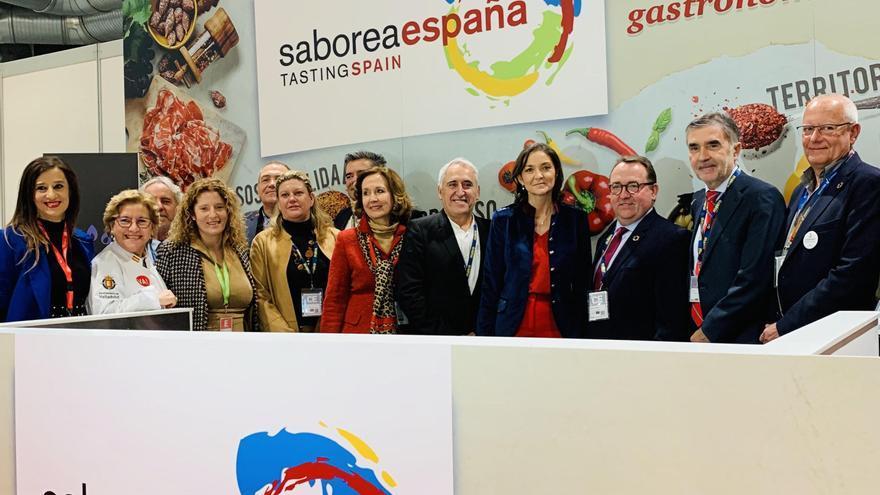 Foto de familia en 'Madrid Fusión'.