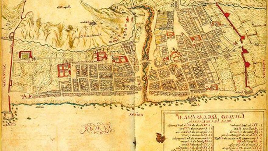 Zona donde tendrá lugar las hogueras de San Juan