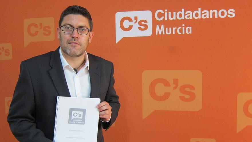 C's Región de Murcia no gobernará si no es la lista más votada y acusa al PP de copiarle el programa
