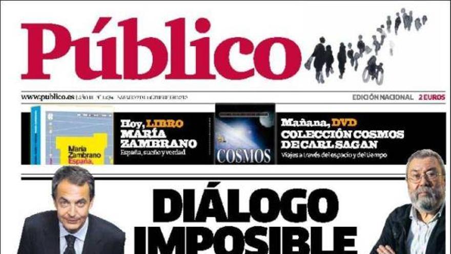 De las portadas del día (02/10/2010) #8