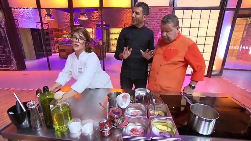 'Top Chef' expulsa por un plato vacío y Rakel manda callar a Chicote y Roncero