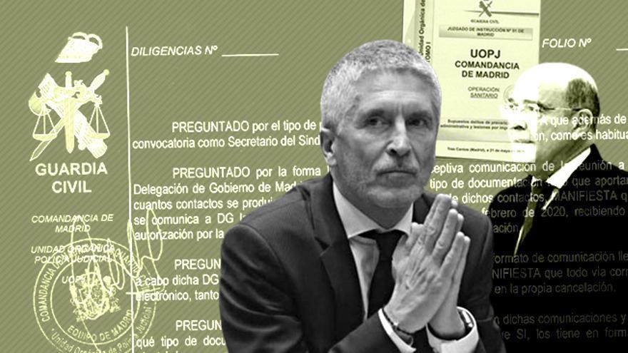 El ministro del Interior, Fernando Grande-Marlaska, en el ojo del huracán tras cesar al coronel Pérez de los Cobos
