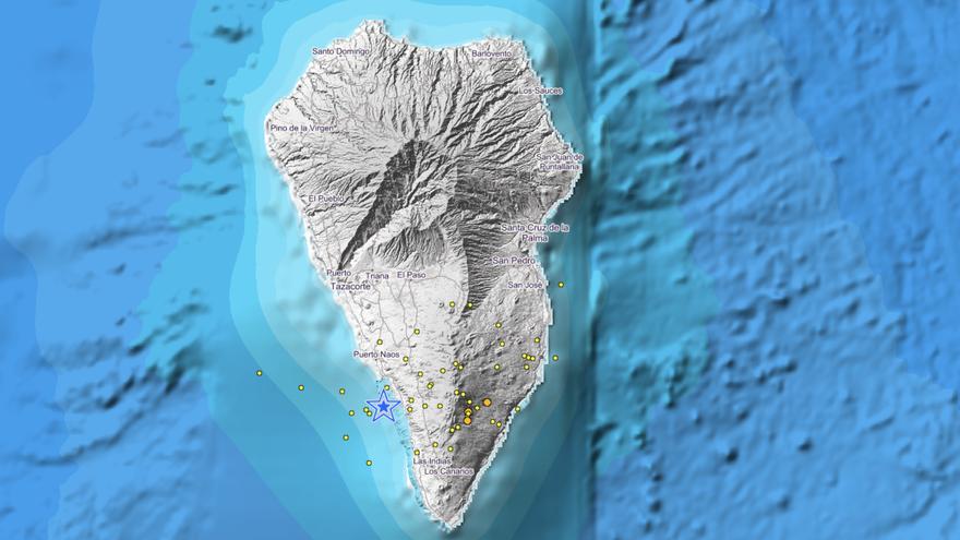El enjambre sísmico de La Palma se 'reaviva'