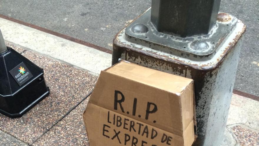 ¿Dónde queda la libertad de expresión y el derecho al voto?