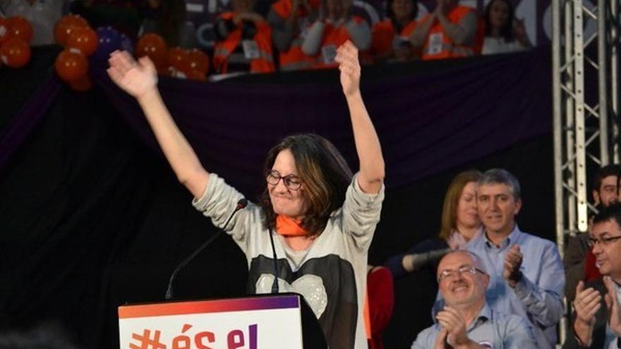 "Oltra a Iglesias: ""Pablo, sonríe, los valencianos te vamos a hacer presidente"""