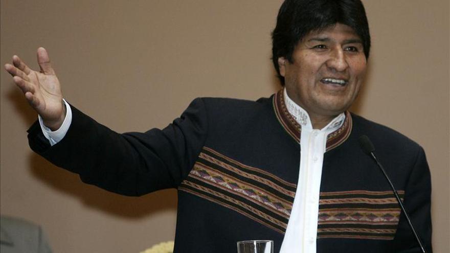 Morales insta a usar la empresa de telecomunicaciones pública y no las privadas