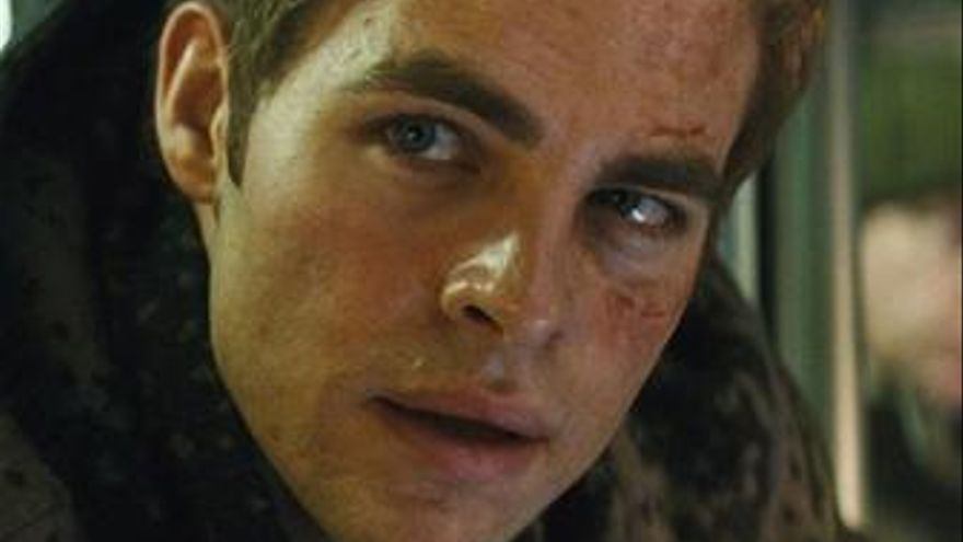 Chris Pine en Star Trek