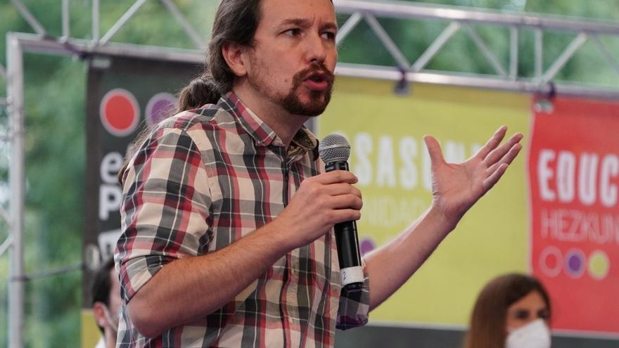 Pablo Iglesias cancela en Ordizia y Elkarrekin Podemos-IU busca nuevo lugar para el cierre de campaña