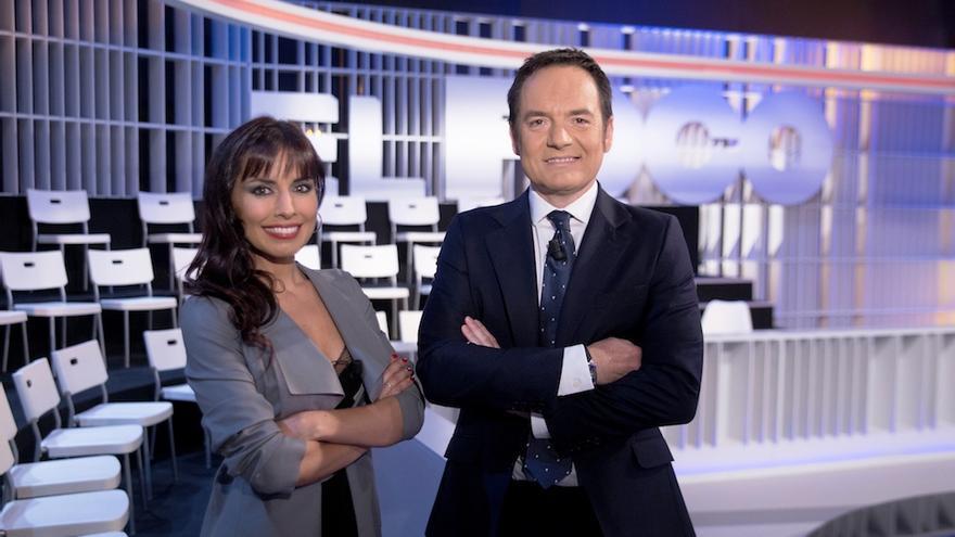 Presentadores del programa de la Televisión Canaria El Foco.