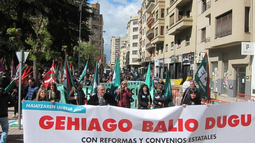 """ELA rechaza en Pamplona """"la extensión de la precariedad"""""""
