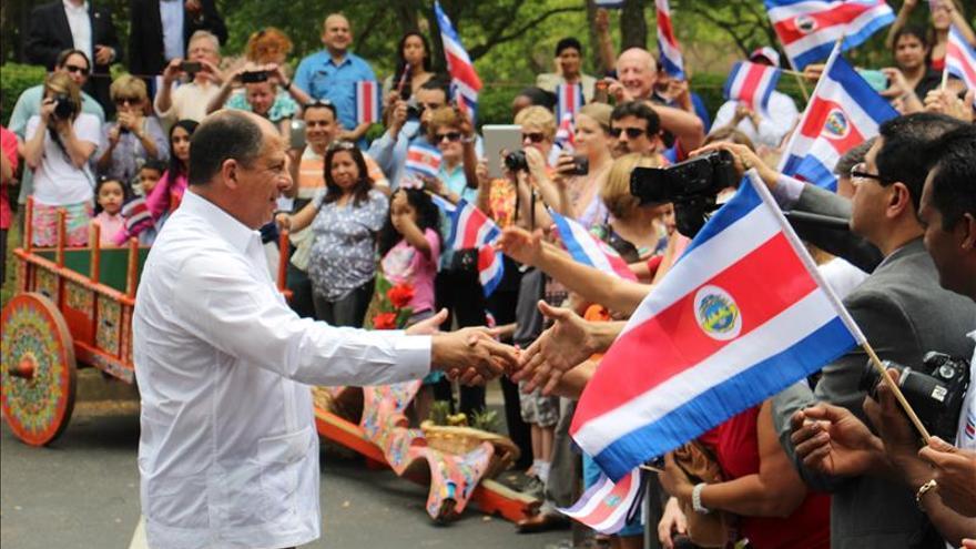 El presidente Costa Rica afianza la relación con empresarios y universidades en Texas