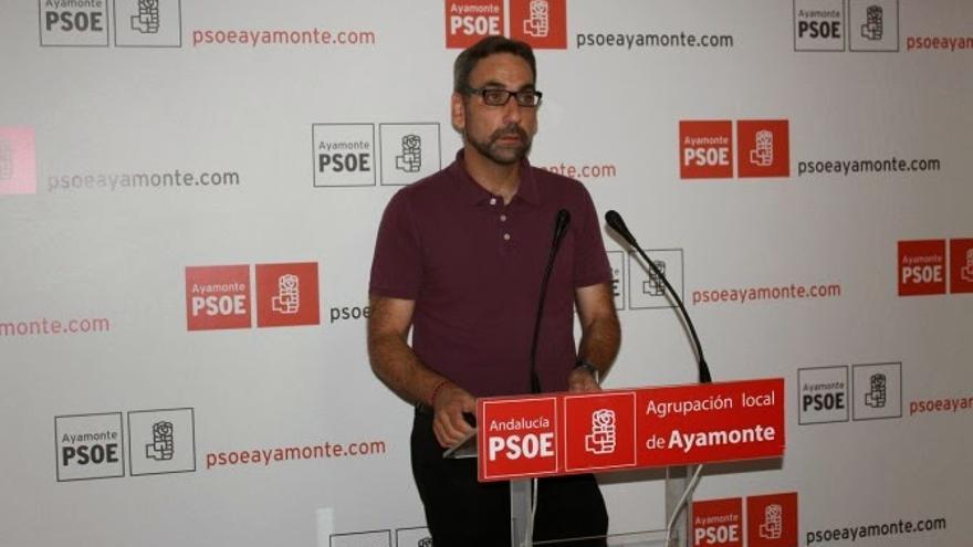 El alcalde de Ayamonte en funciones, Antonio Rodríguez Castillo.