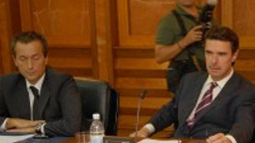 Ruano y Soria en los tiempos en los que el segundo era vicepresidente autonómico.