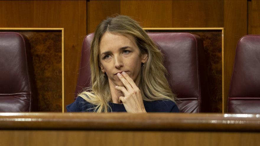 La portavoz del Partido Popular, Cayetana Álvarez de Toledo, en el Congreso