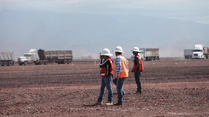Sacyr gana la licitación para la losa de cimentación del nuevo aeropuerto de México
