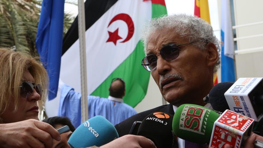 El ministro para Europa de la República Árabe Saharaui Democrática, Mohamed Sidati