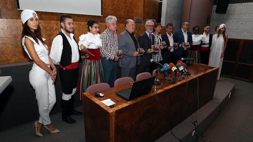 Presentación del Festival Internacional de Folclore Villa de Ingenio