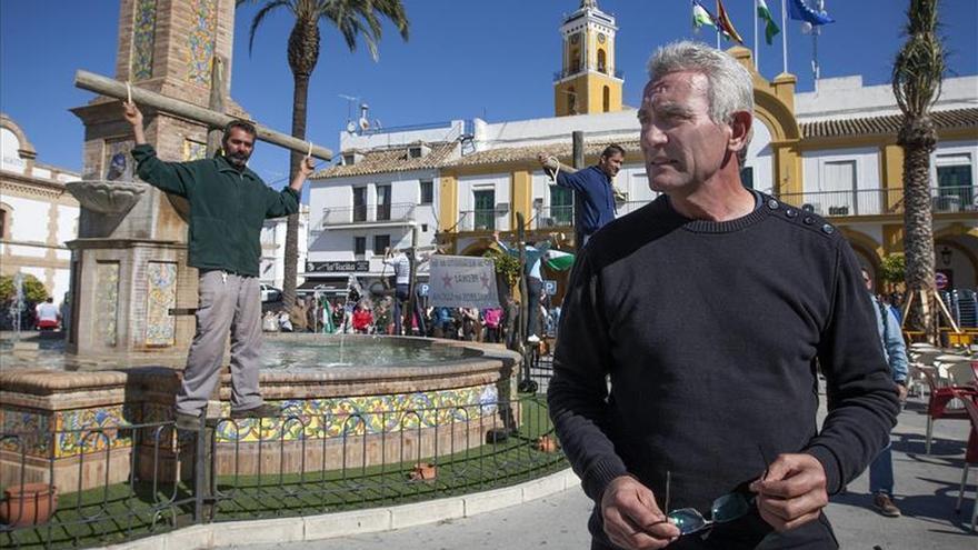 Cañamero estuvo en Murcia presentando 'Gente precaria' / EFE