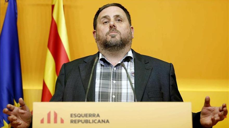 """Junqueras ve """"probable"""" un pacto con la CUP que evite un """"fraude"""" al soberanismo"""