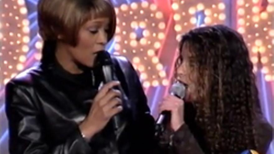 "La noche que Whitney Houston dio la ""Sorpresa, Sorpresa"" en Antena 3"