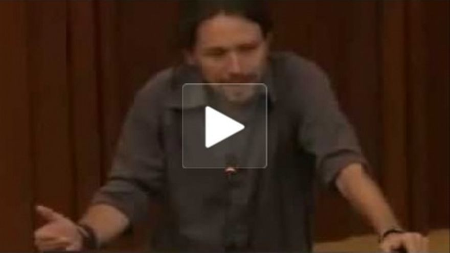 Pablo Iglesias - Captura vídeo gira América Latina