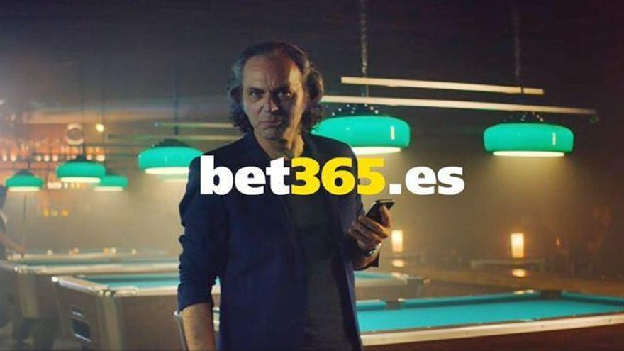 José Coronado anunciando la casa de apuestas online bet365.es