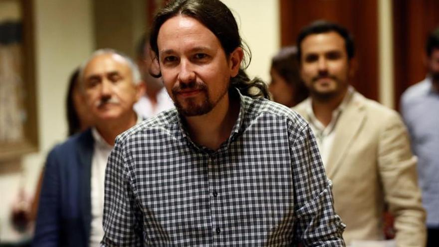 Iglesias se pregunta si Sánchez busca los votos del PP y no los de Podemos