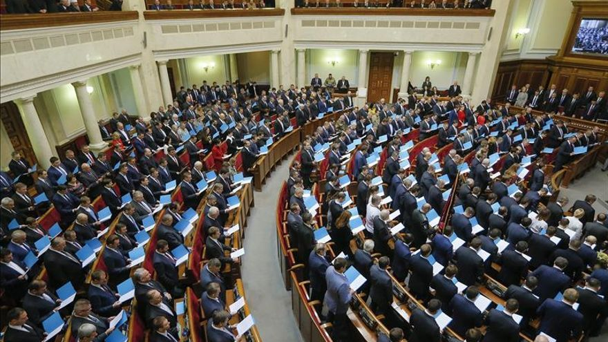 El renovado Parlamento ucraniano inicia la nueva legislatura