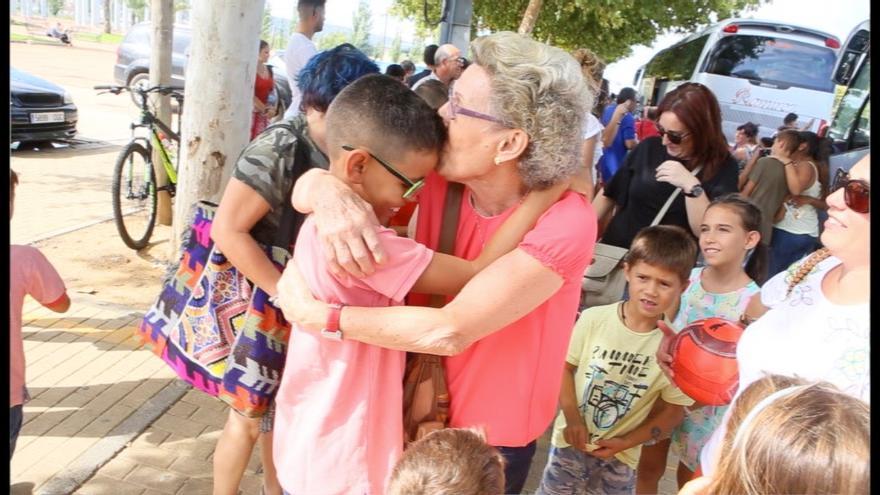 Despedida de los niños saharauis del pasado verano   MADERO CUBERO
