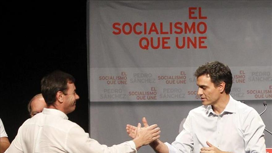Tomás Gómez dice que el madrileño Pedro Sánchez era su candidato y confía en la unidad del PSOE