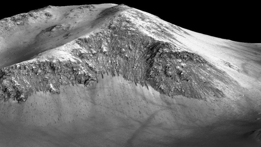 Laderas marcianas / NASA