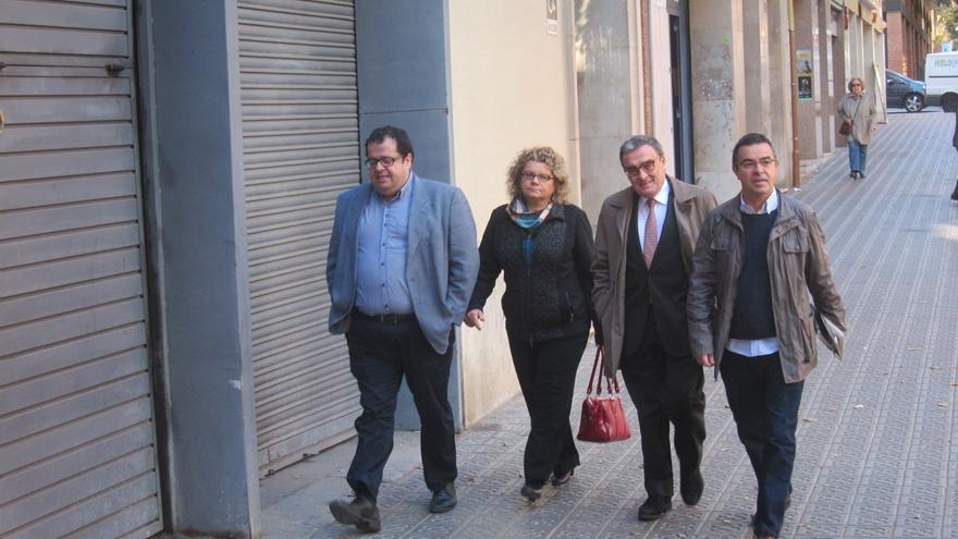 """Los críticos del PSC llegan a la reunión con Pere Navarro con ánimo """"constructivo"""" y descartan ruptura"""