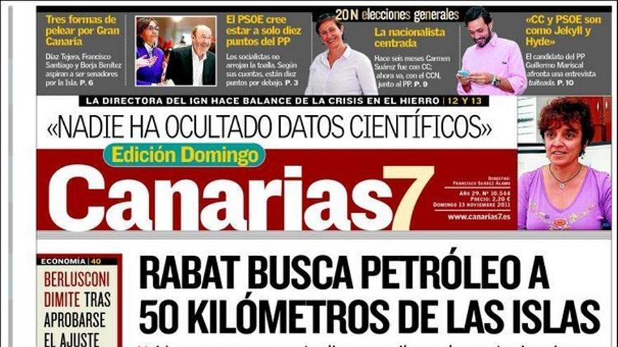 De las portadas del día (13/11/2011) #1