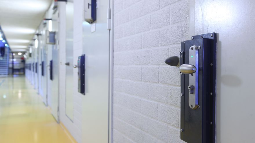 Imagen del interior de una cárcel holandesa.