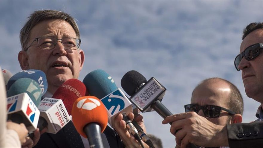 Puig considera urgente la conexión de corredores atlántico y mediterráneo