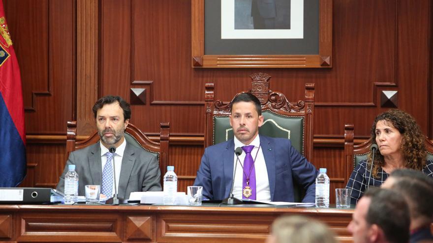 El alcalde de Telde, Héctor Suárez (CC).