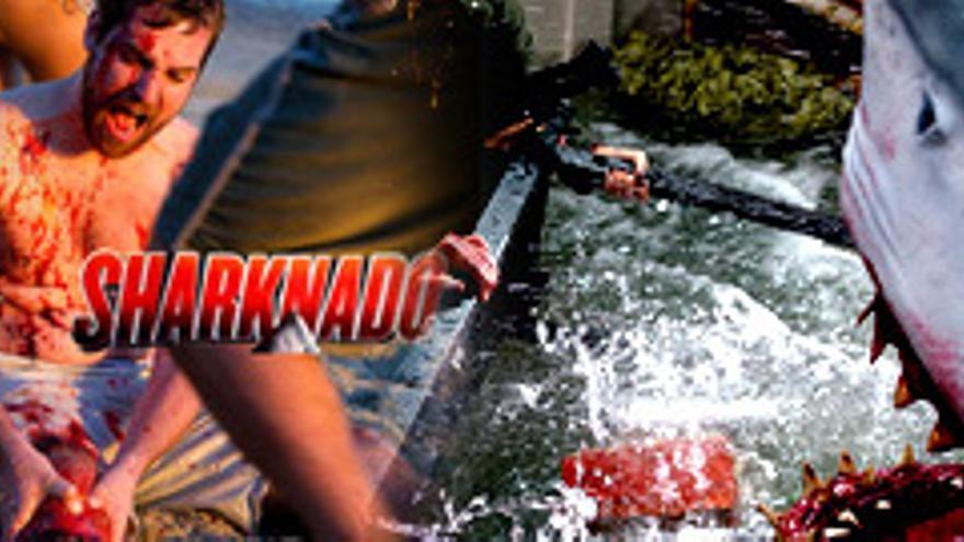 El fenómeno 'Sharknado' llega a España el 20 de septiembre