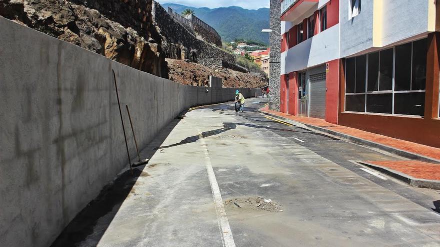En la imagen, la calle con la obra prácticamente concluida. Foto: JOSÉ AYUT.