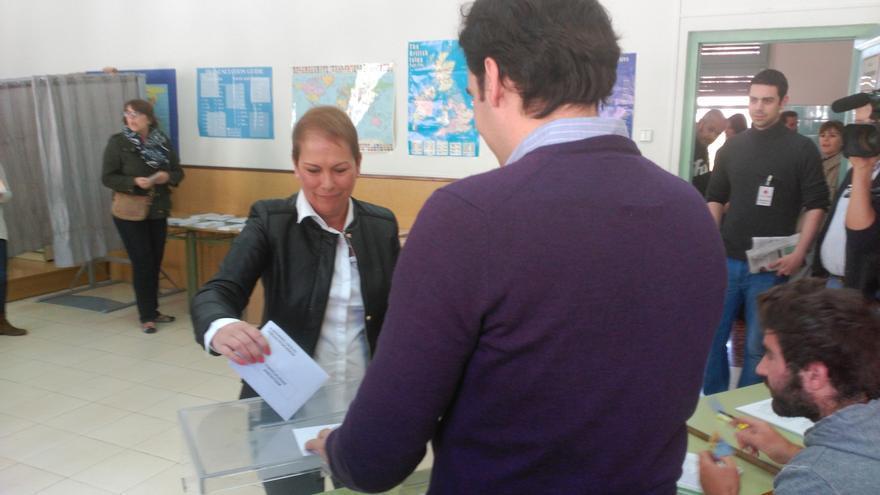 """Barkos anima a los ciudadanos a votar con """"el ánimo de construir el cambio"""" en Navarra"""