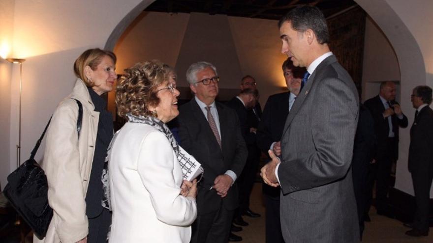 """El Rey, en la entrega del """"Premio Europeo Carlos V"""" / Twitter @CasaReal"""